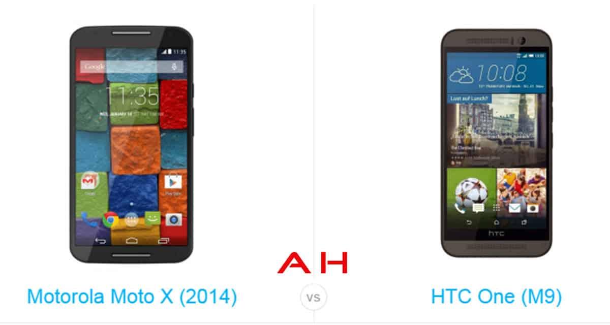 One M9 vs Moto X cam AH