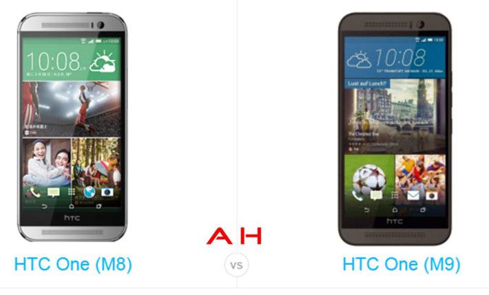 Phone Comparisons: HTC One M8 vs HTC One M9