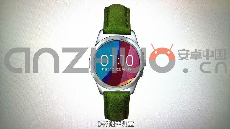 Oppo OWatch leak