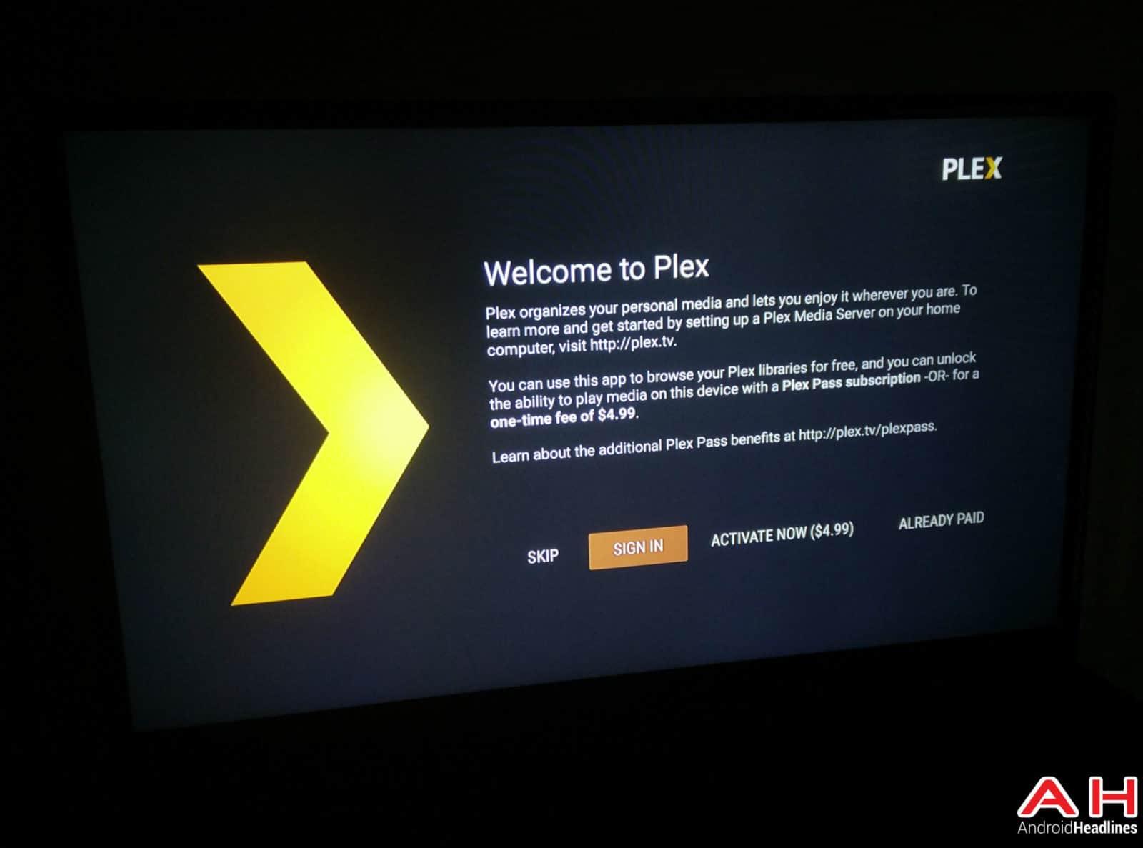 Plex Android TV AH2