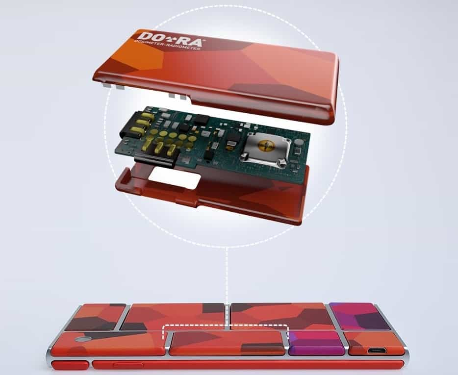 Project Ara radiation sensor