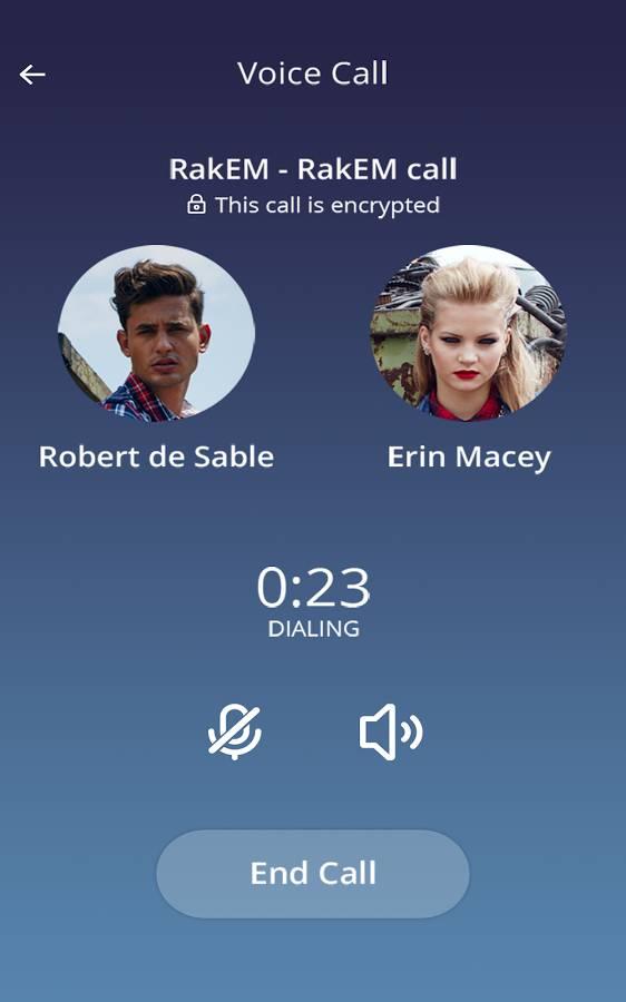 RakEM voice call