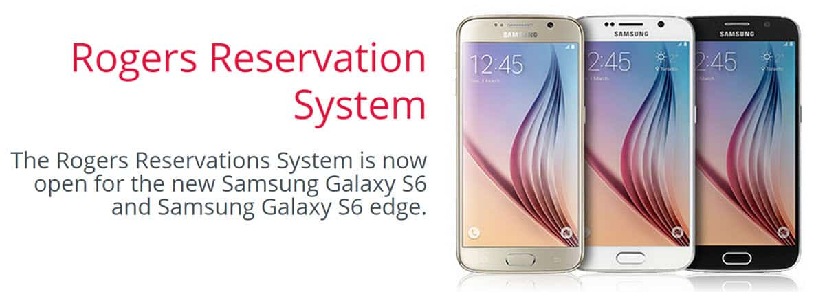 S6 and S6 Edge Pre-Order