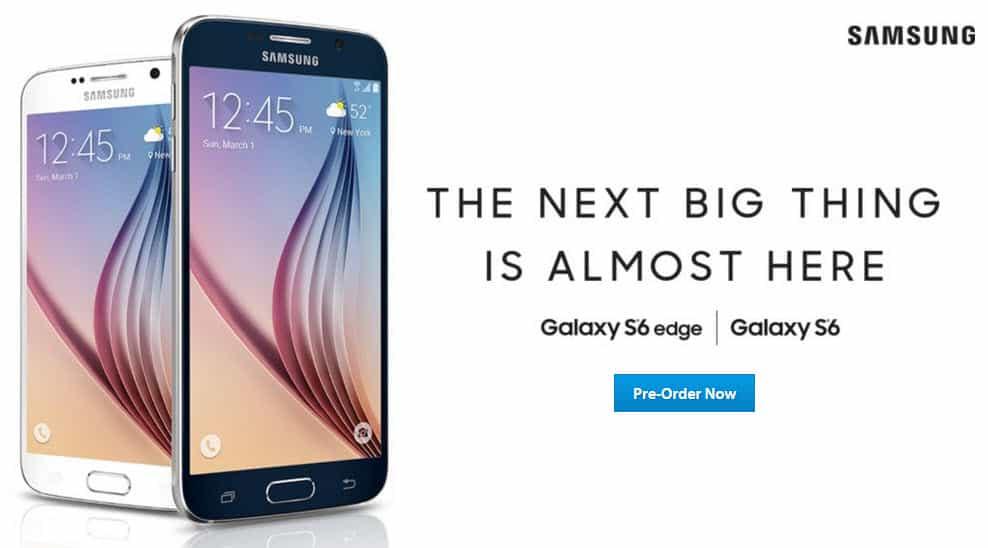 Sams Club Pre-Order Galaxy S6