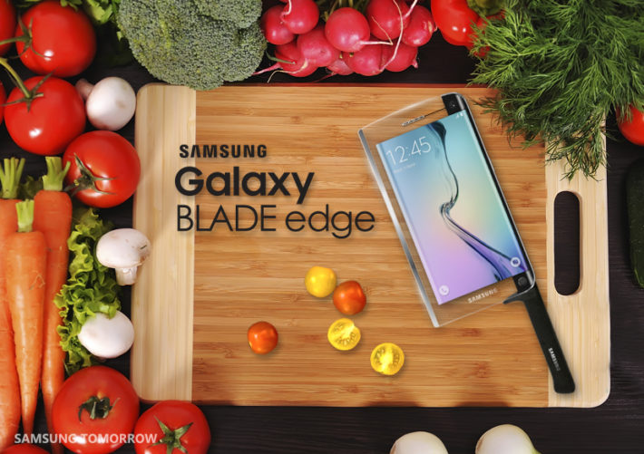 Samsung Launch The Samsung Galaxy BLADE Edge, The Worlds First Smart Knife To Go On Sale April 1st