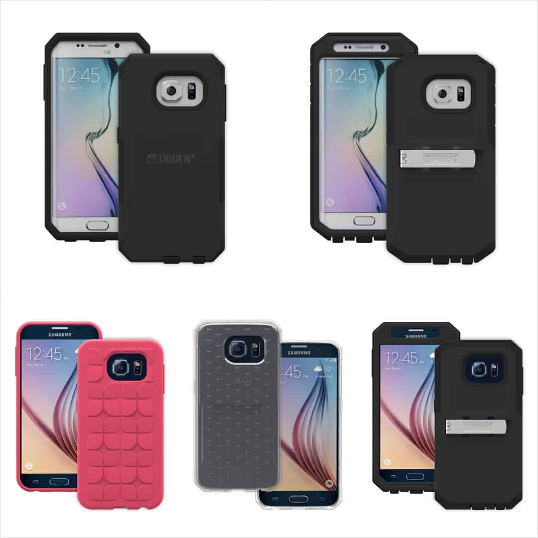 Samsung Galaxy S6 and S6 Edge Trident cases