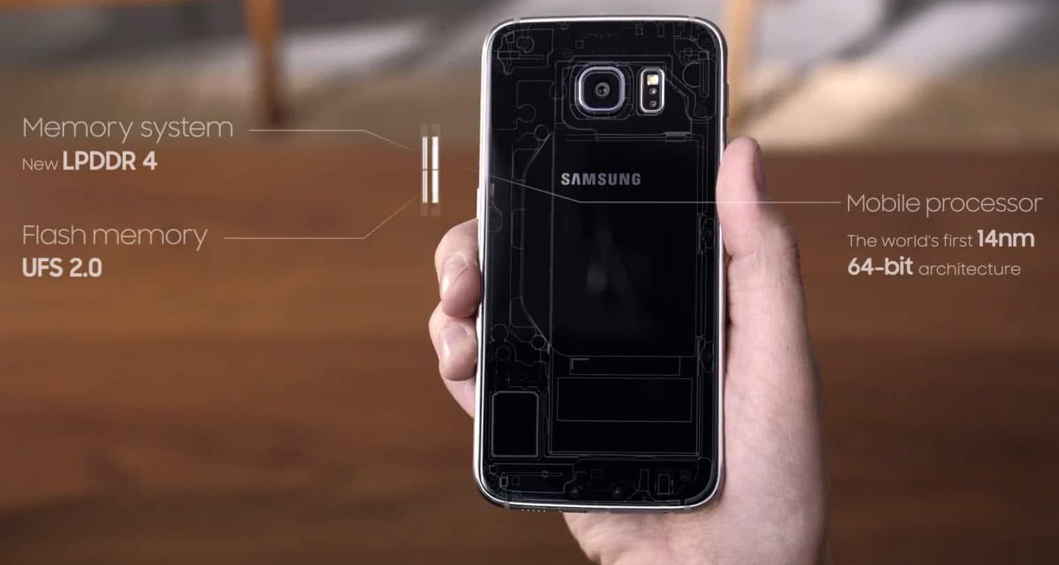 Samsung S6 Designing