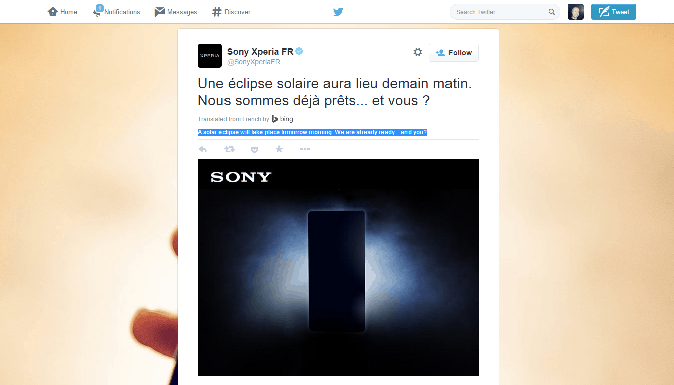 Sony Xperia FR