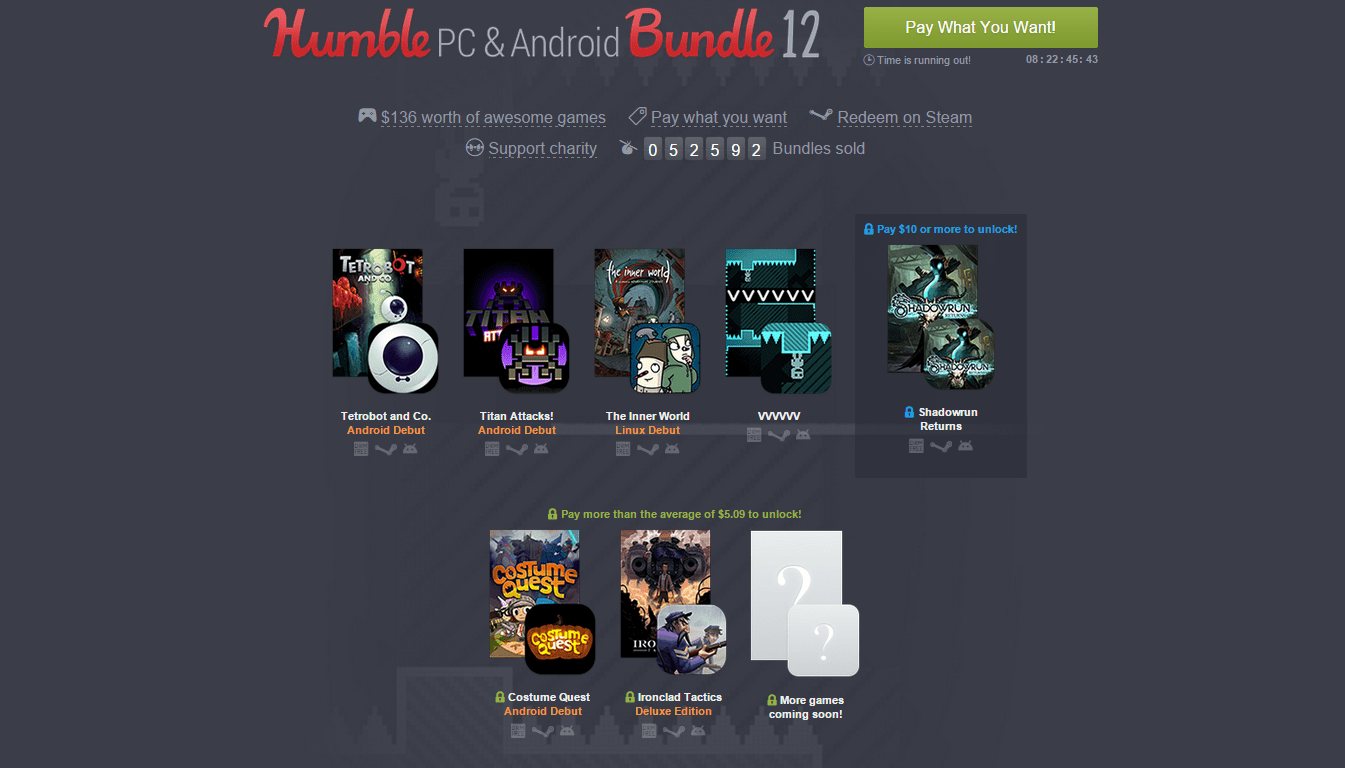 Humble PC And Android Bundle 12