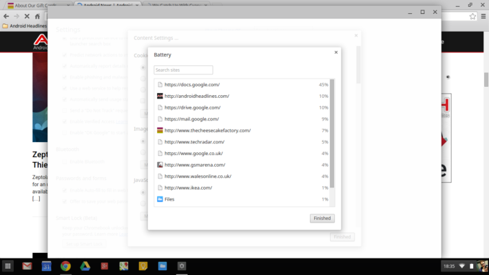 How To Check What Is Using Your Chromebook's Battery