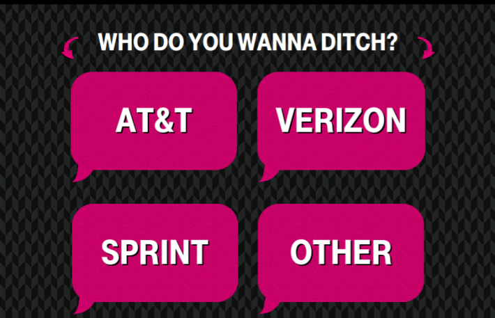 """Win Free Mobile Service For One Year With T-Mobile's """"Ditch and Switch"""" Contest"""