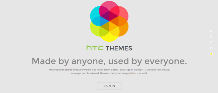 HTC Launch Theme Website Offering The Ability To Get To Grips With The New HTC One M9 Theme Feature