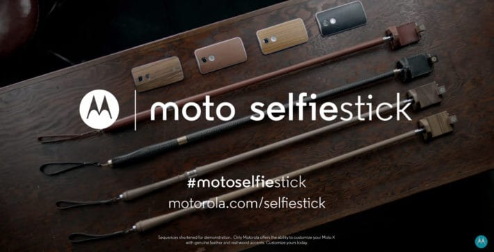 Motorola Says Happy April Fools Day With The Moto Selfie Stick