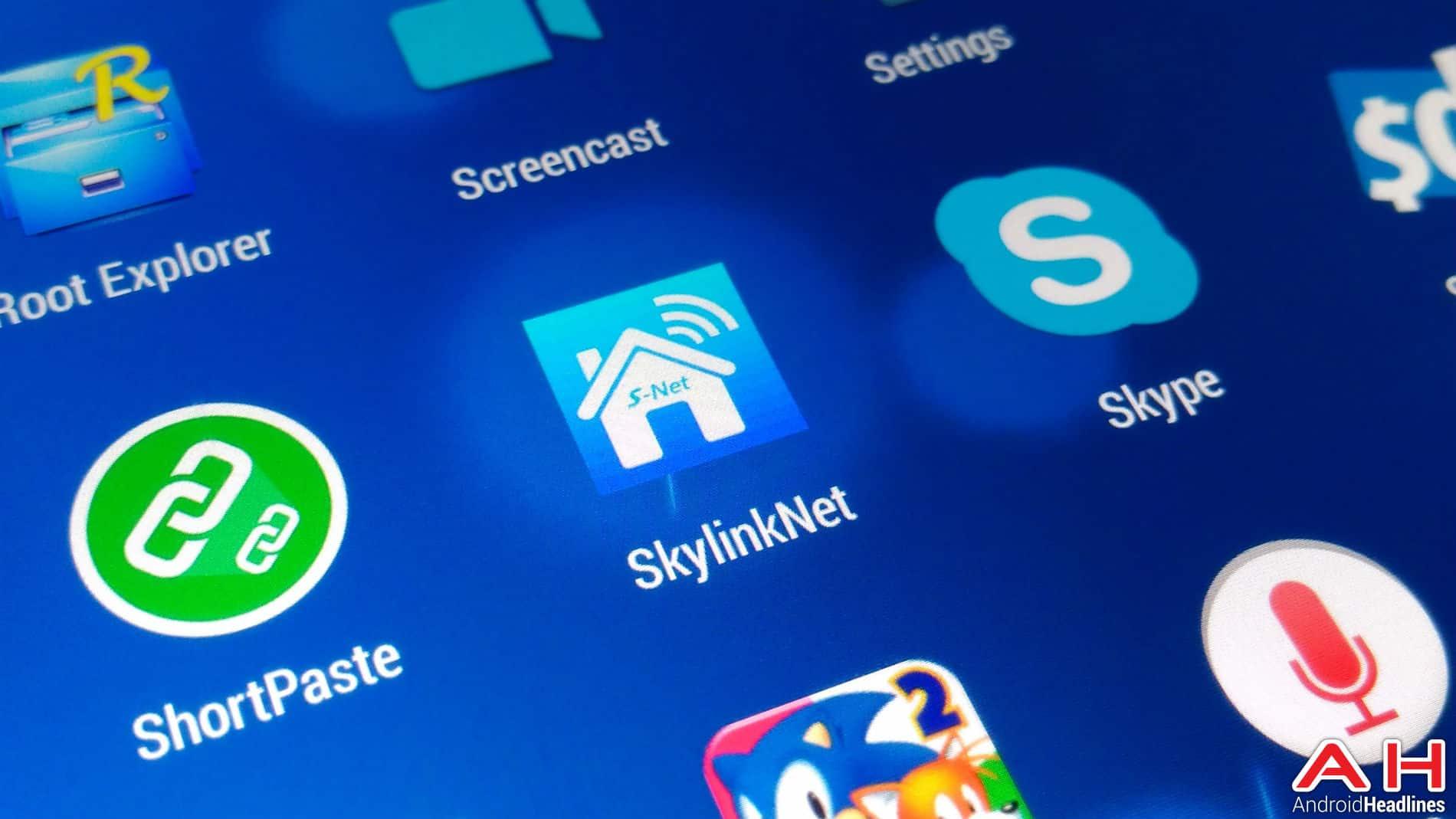 Skylink Net App AH