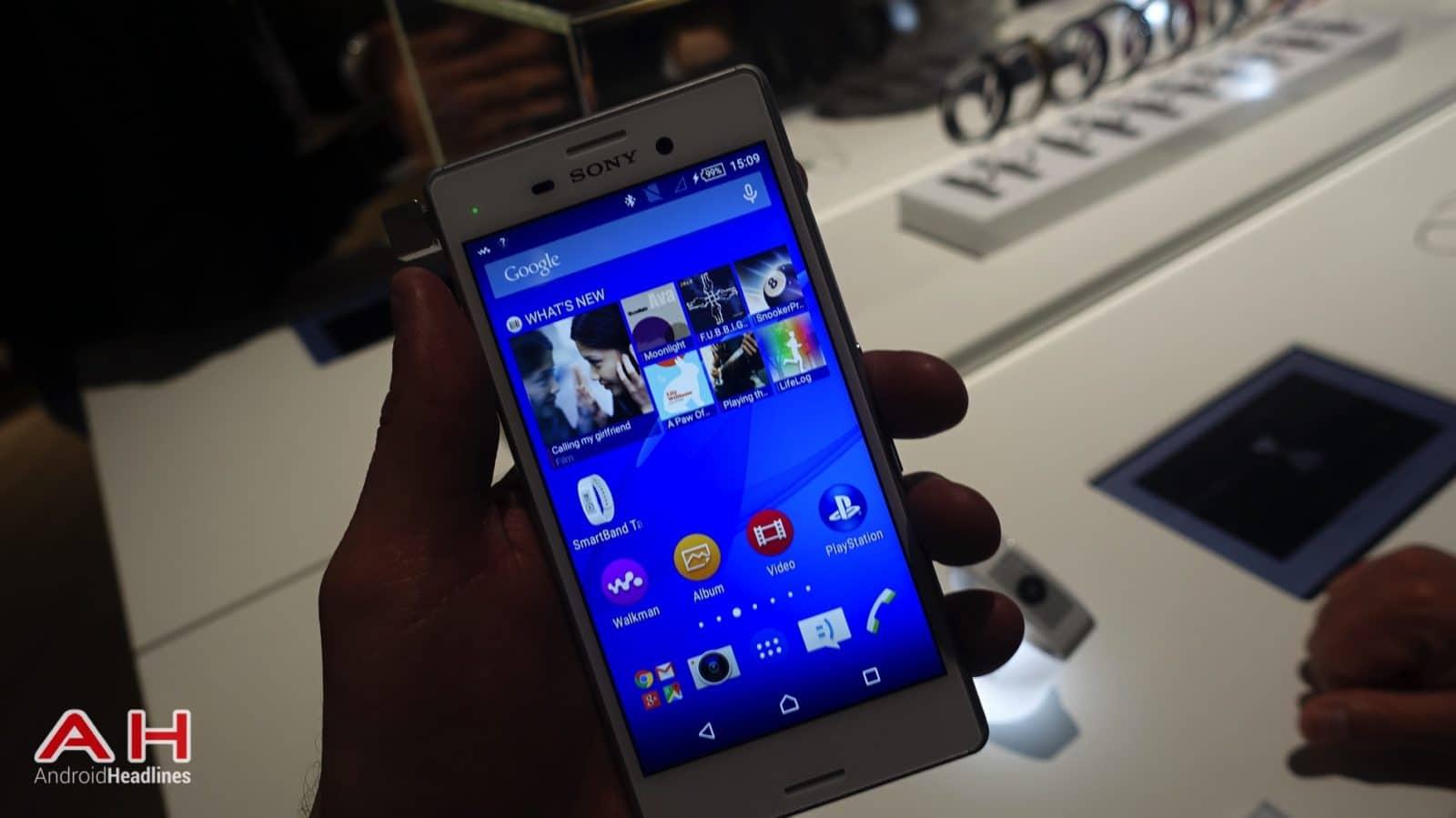 Sony Xperia M4 Aqua AH 01