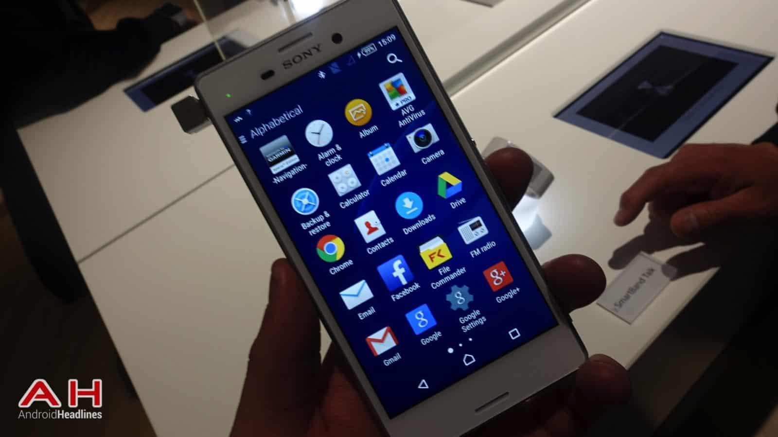 Sony xperia m4 aqua android 6