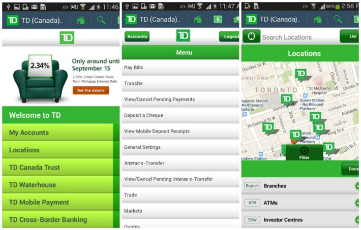 TD Bank Trust Has Overhauled and Modernized Their Android App