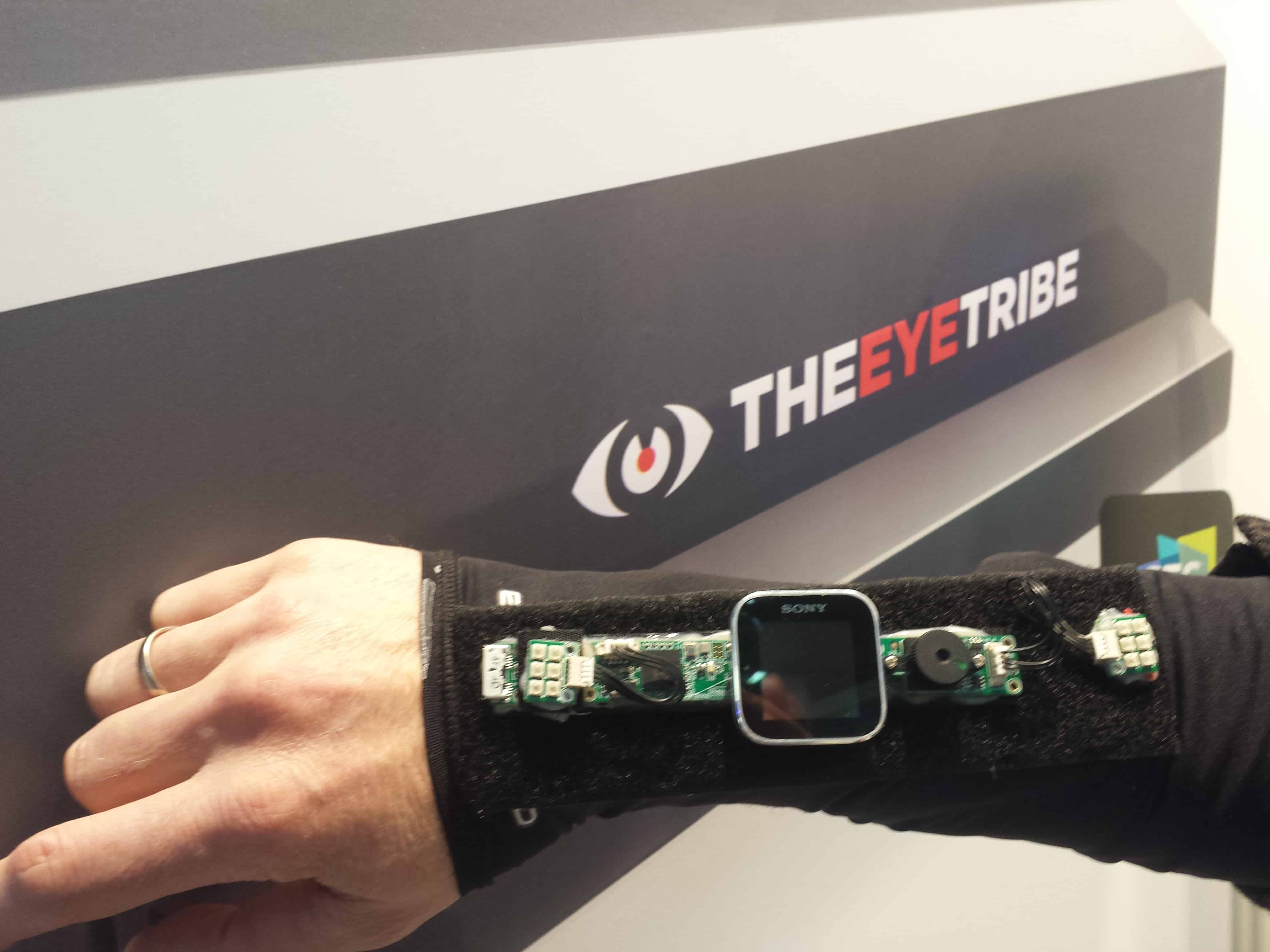 The Eye Tribe smart watch prototype