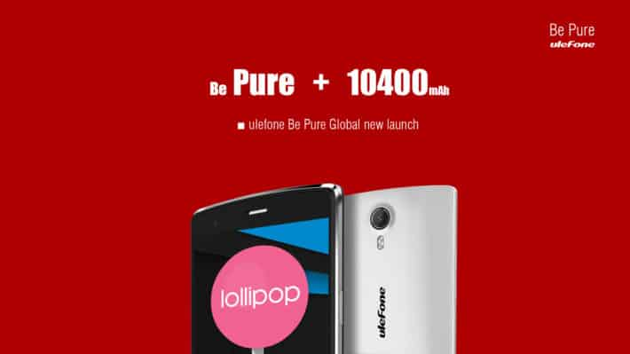 Ulefone Be Pure Is The Company's Newest Mid-Ranger, Octa-Core SoC And 1GB Of RAM In Tow