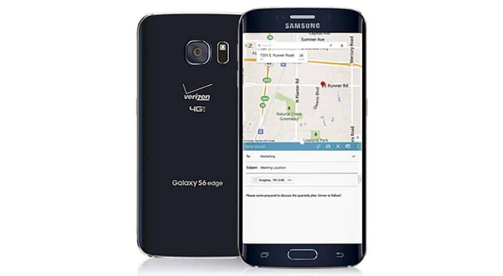 Verizon Galaxy S6 Edge