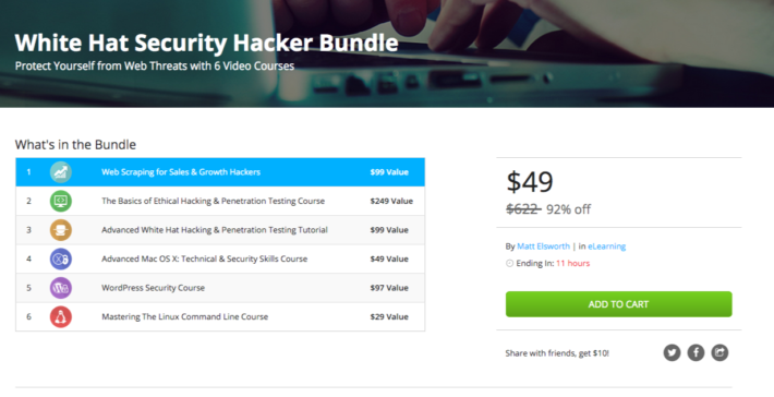 Last Chance to Buy White Hat Hacker Bundle – Ends Tomorrow!