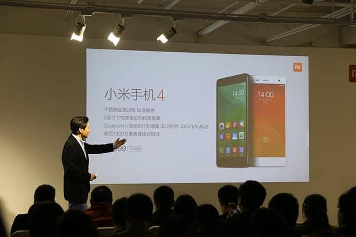 Xiaomi 2GB Mi 4 1