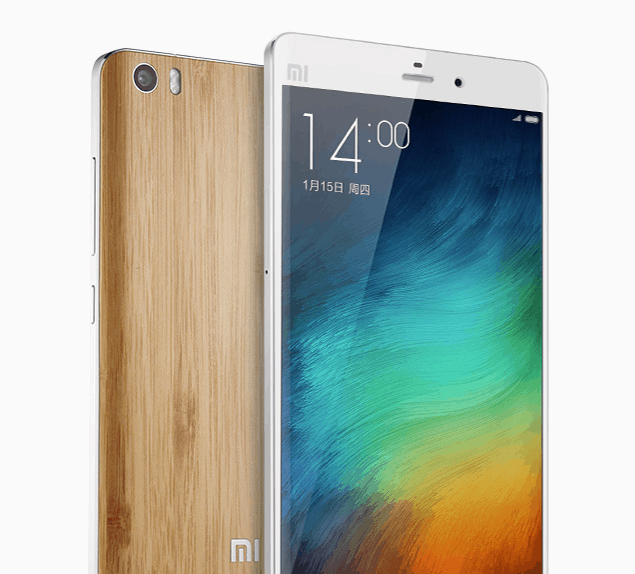 Xiaomi Mi Note bamboo back_1