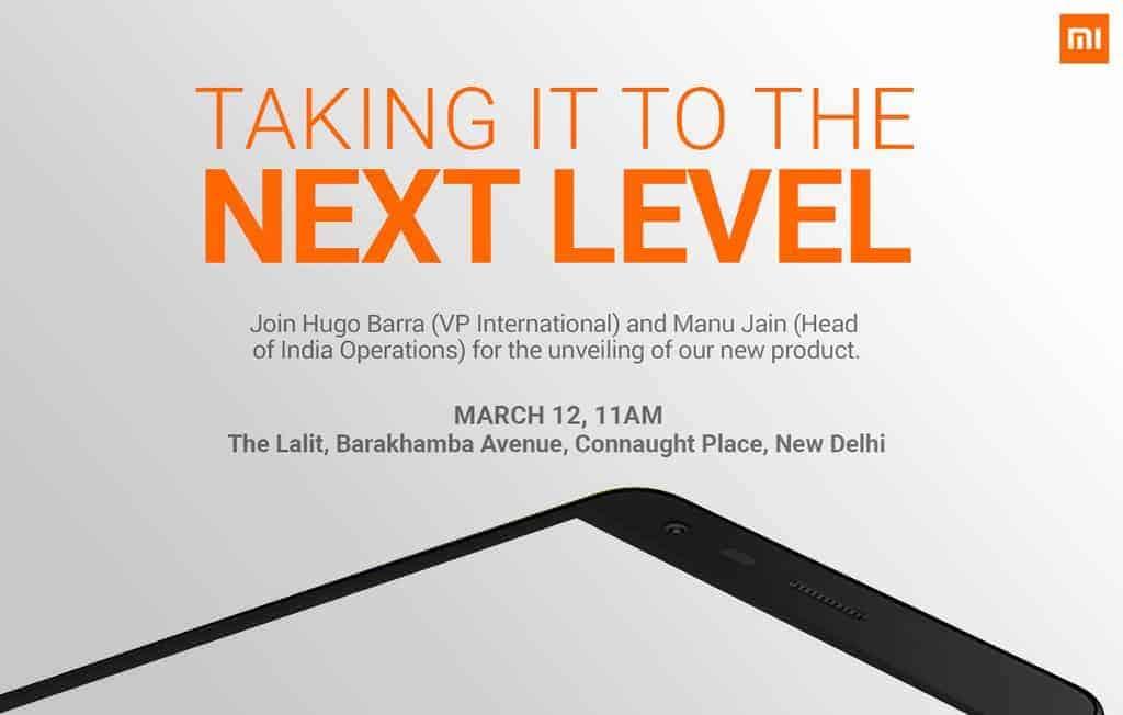 Xiaomi announces Redmi 2 India event