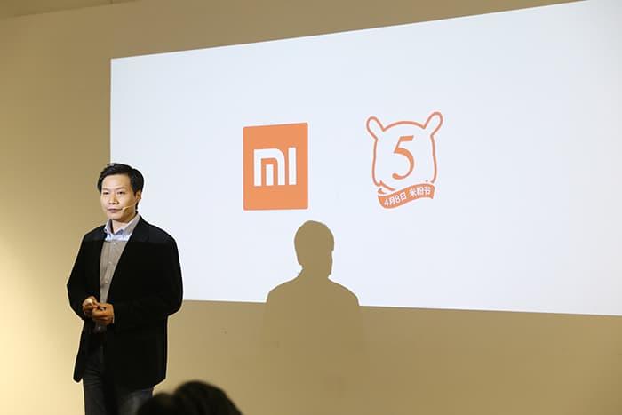 Xiaomi fifth anniversary event