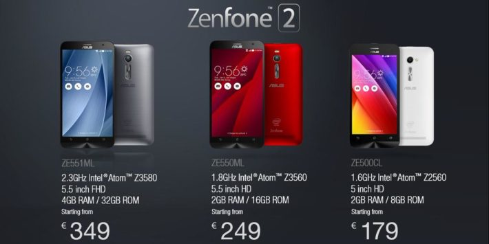 ASUS Brings the ZenFone 2 to France, Starting at Just €179 ($190)