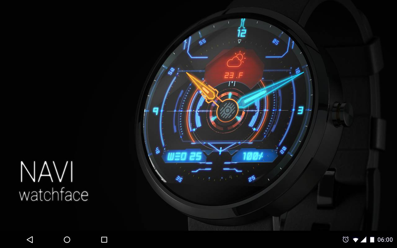 Facer android wear - Navi