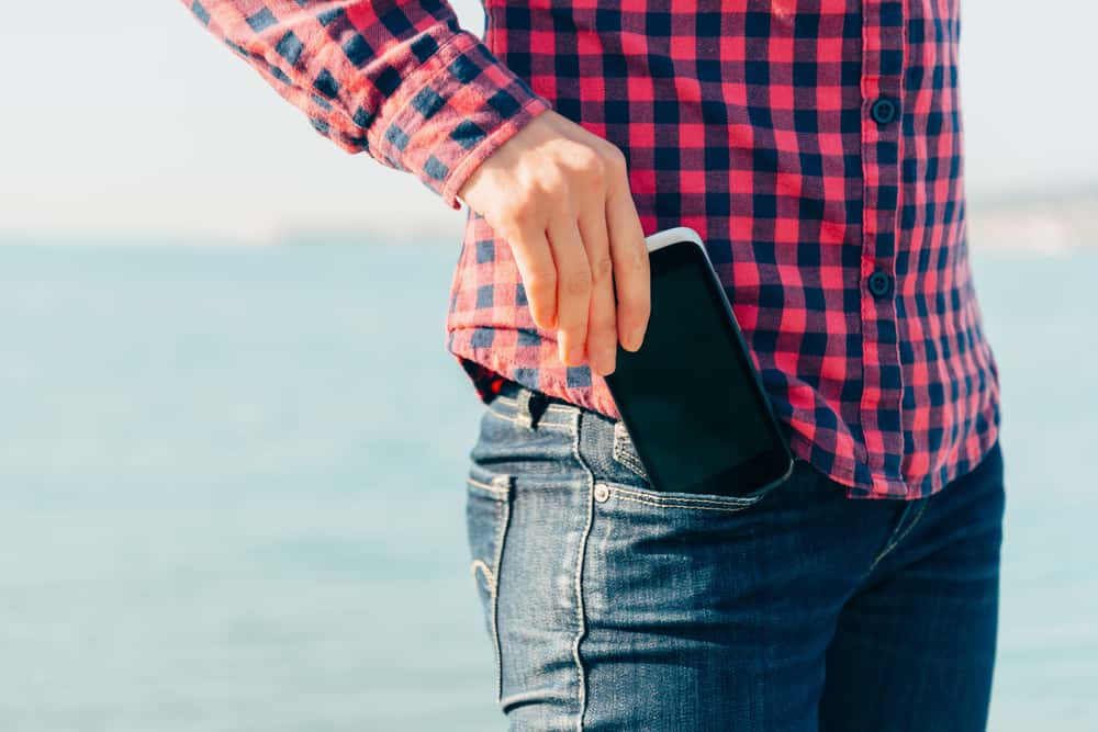 smartphone in pocket