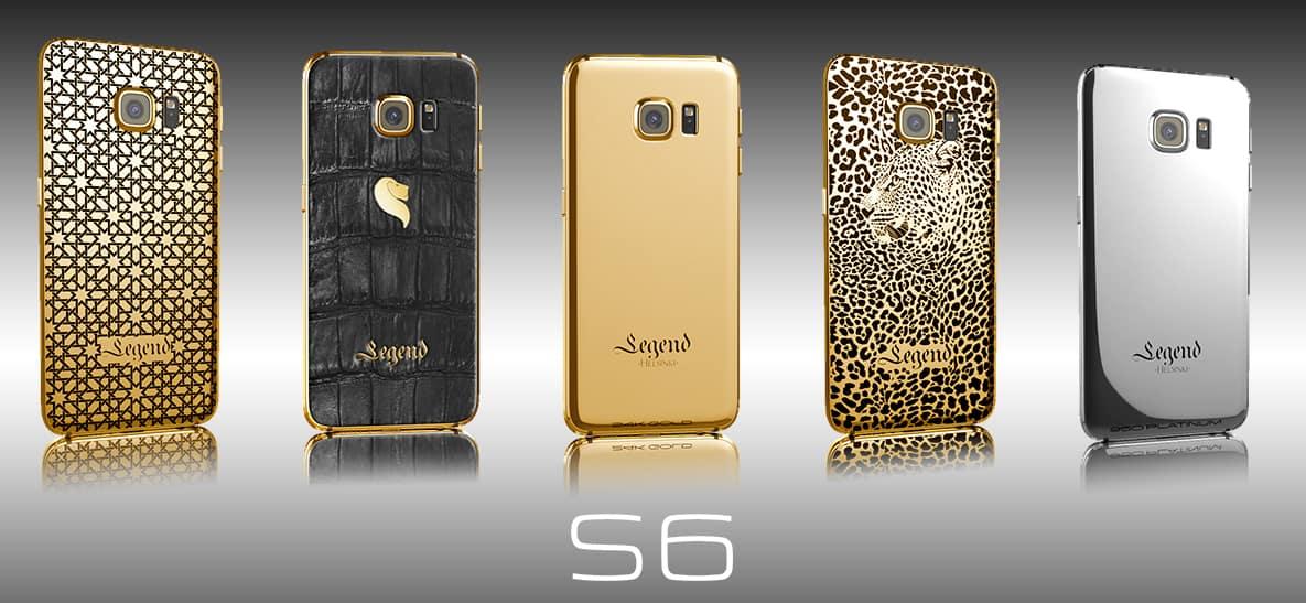 24k Gold galaxy s6 by Legend