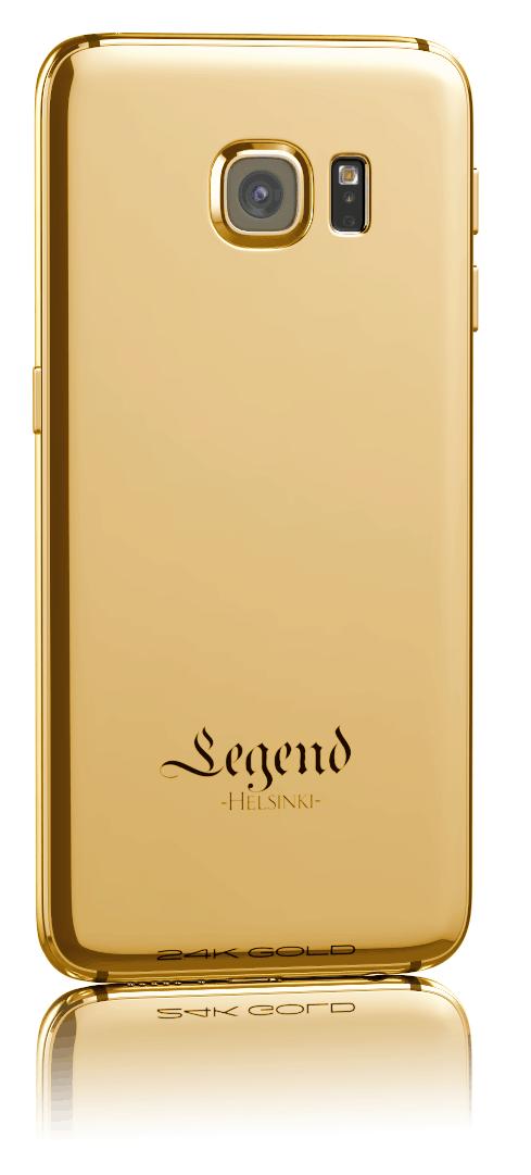 24k gold samsung galaxy s6 edge by legend helsinki