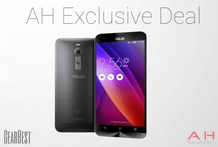 Exclusive AH GearBest Deal: Gray Asus ZenFone 2, 4GB RAM, 64-Bit Processor Only $315.89 With Code