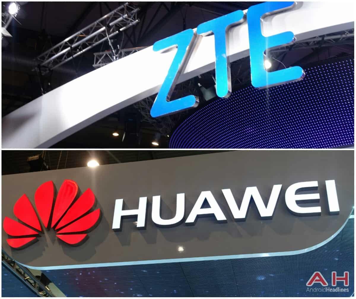 AH Huawei and ZTE logo