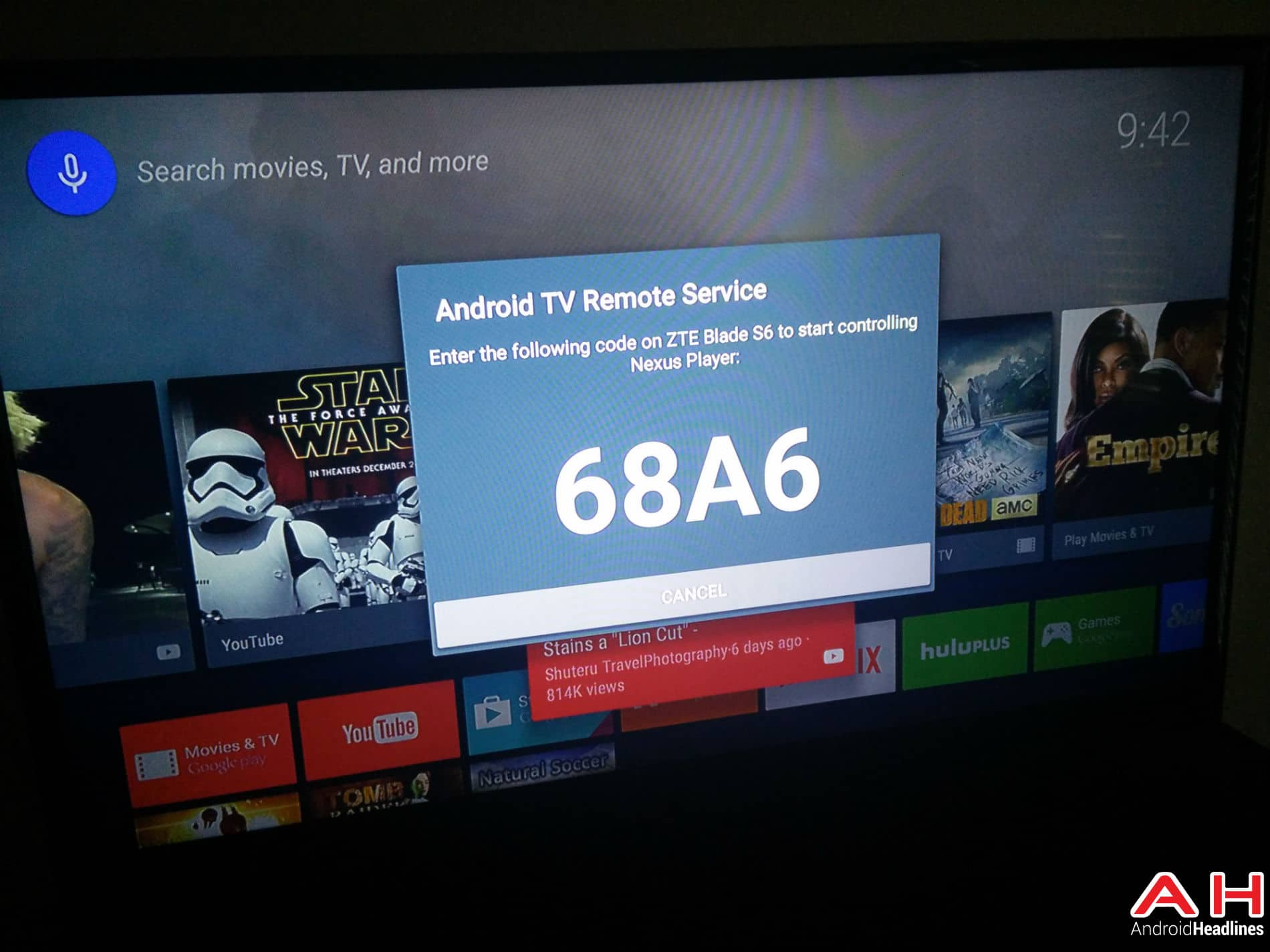 Android TV Remote App AH