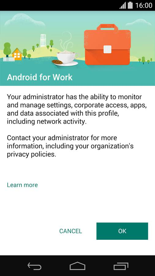 Android for Work App