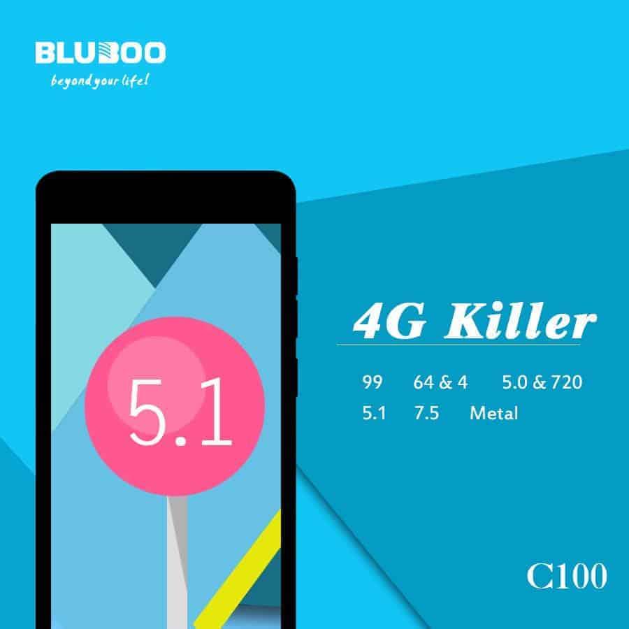 Bluboo C100 teaser