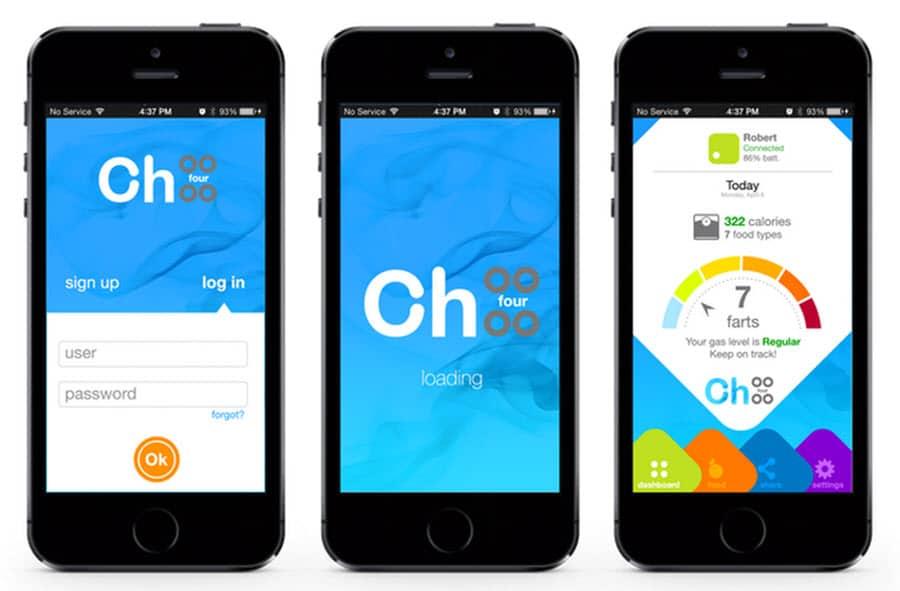CH4 Fart App