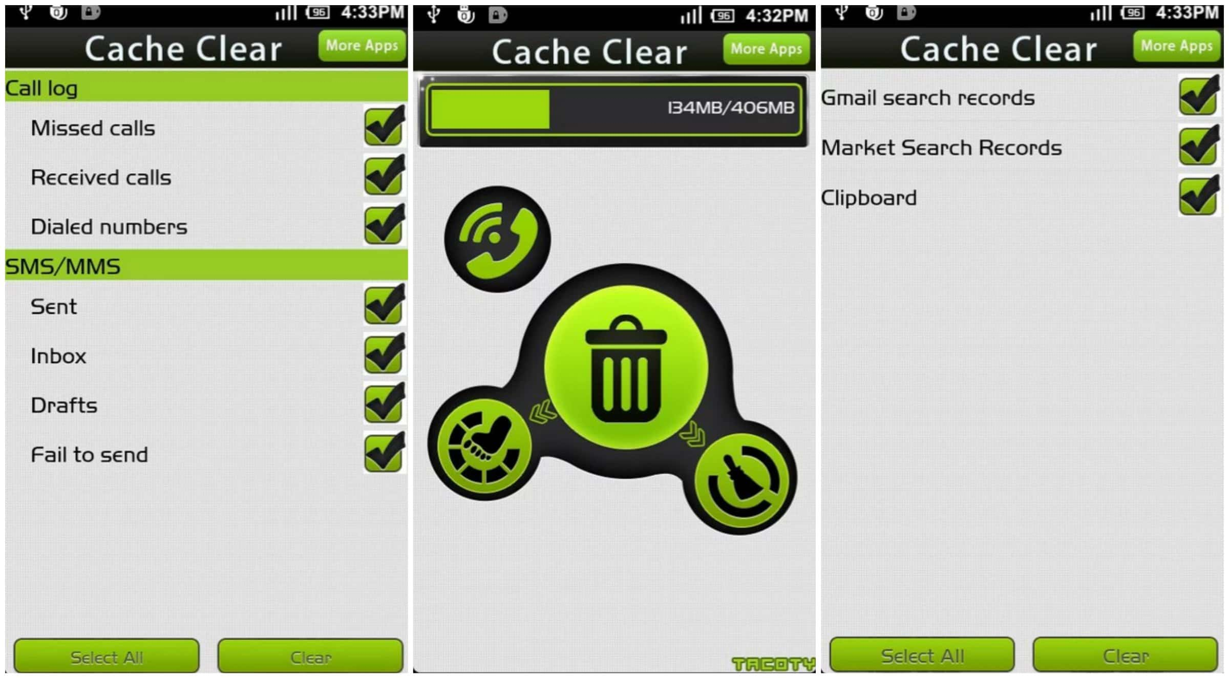 Cache Clear