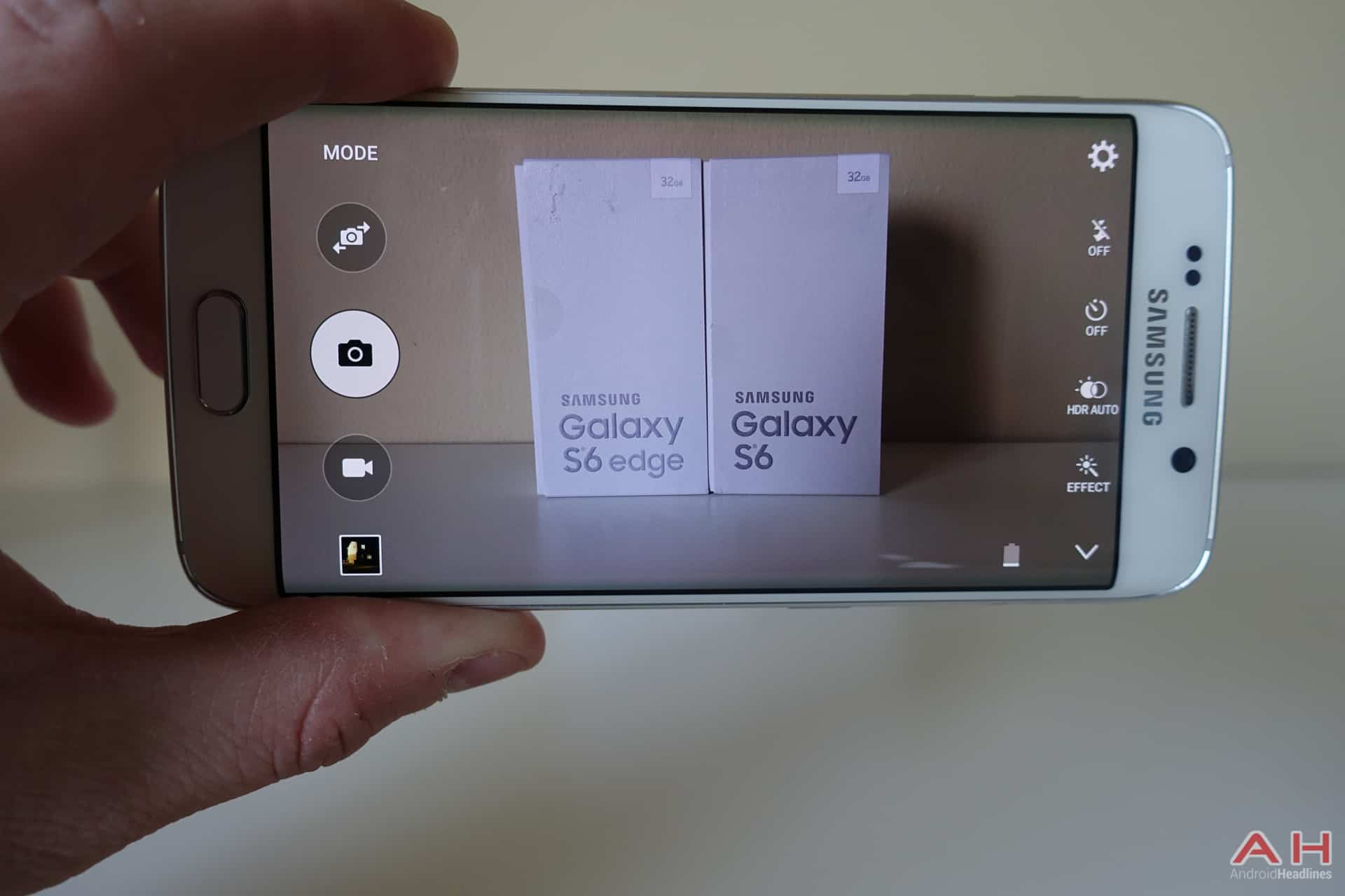 Android How to: Quickly Access the Camera on the Galaxy S6 and ...