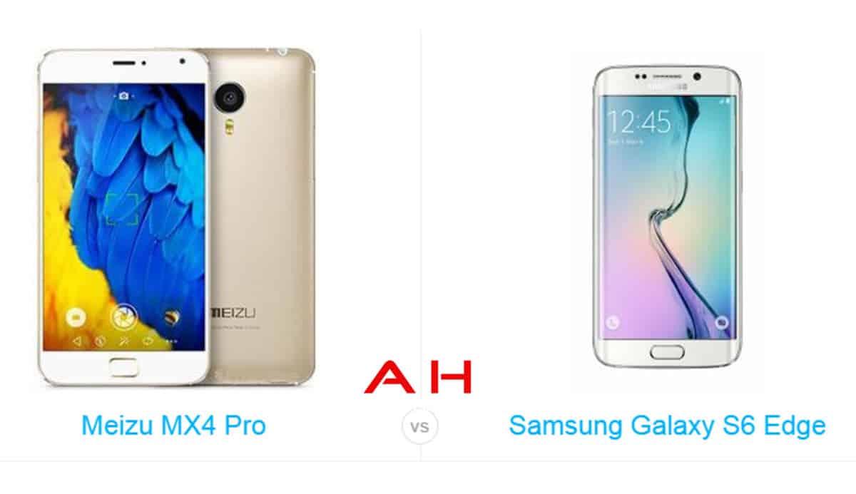 Galaxy S6 Edge vs MX4 Pro cam AH