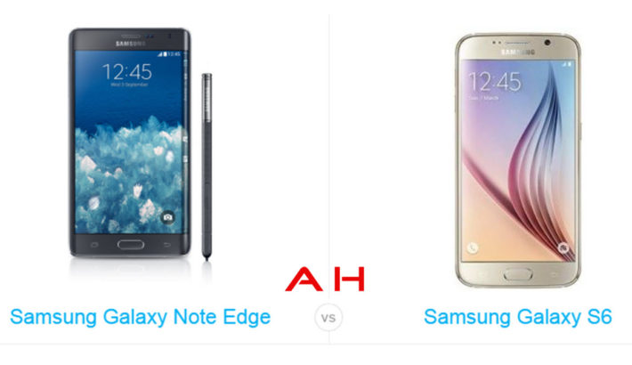 Phone Comparisons: Samsung Galaxy Note Edge vs Samsung Galaxy S6