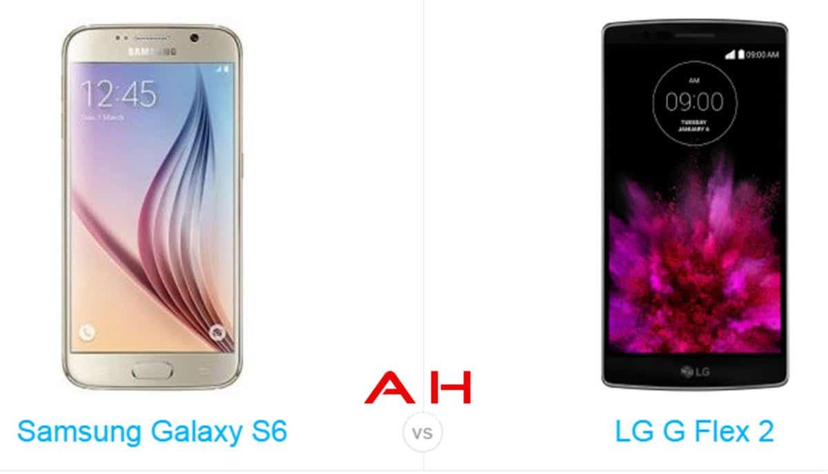 Galaxy S6 vs LG G Flex 2 cam AH