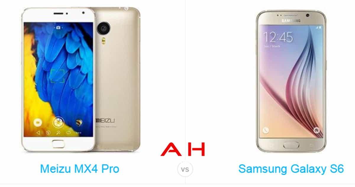 Galaxy S6 vs MX4 Pro cam AH