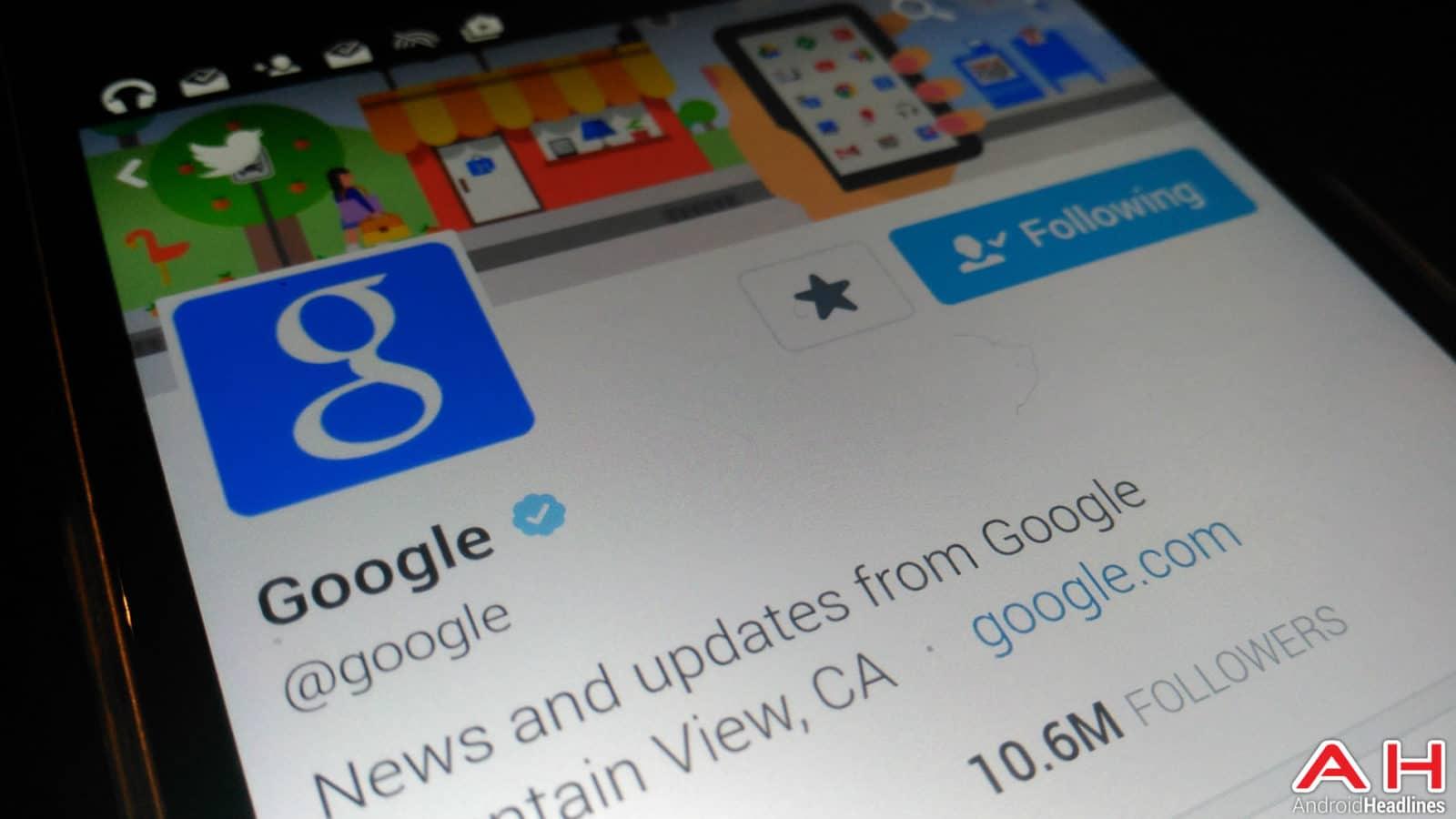 Google Twitter AH