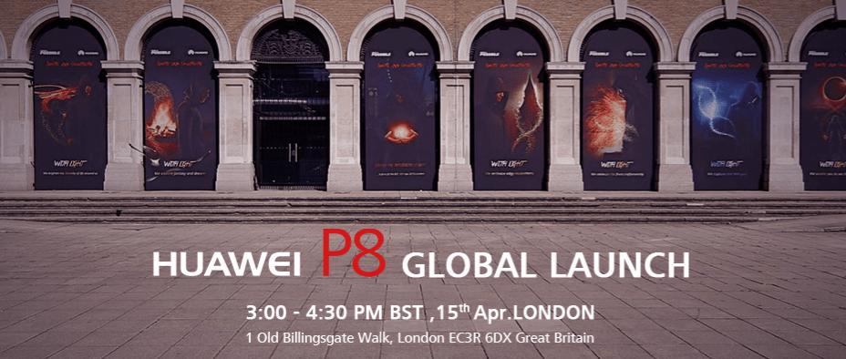 Huwaei P8 global launch