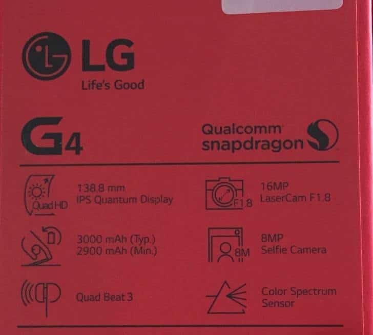 LG G4 Box 2
