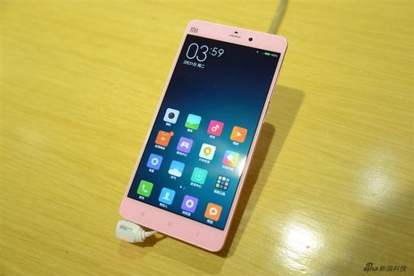 Mi4 Pink 01